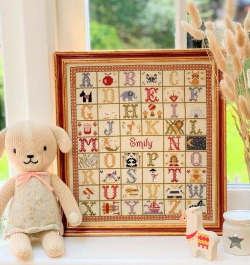 a-z birth cross stitch