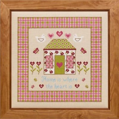 home counted cross stitch kit
