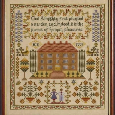 house counted cross stitch kit