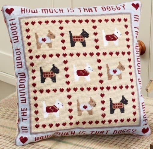 Dog tapestry kit