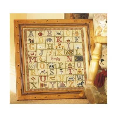 Birth cross stitch kit