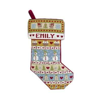 Christmas Stocking Tapestry