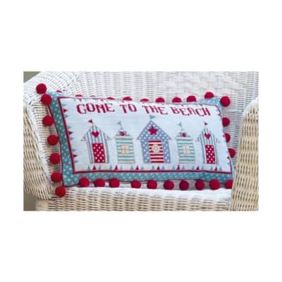Beach Hut Tapestry kit