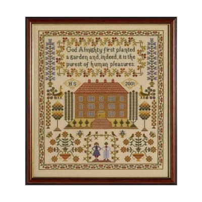 House cross stitch kit