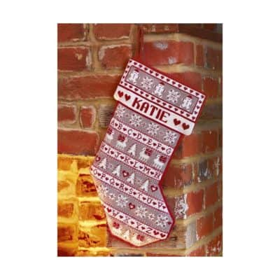 Christmas stocking tapestry kit