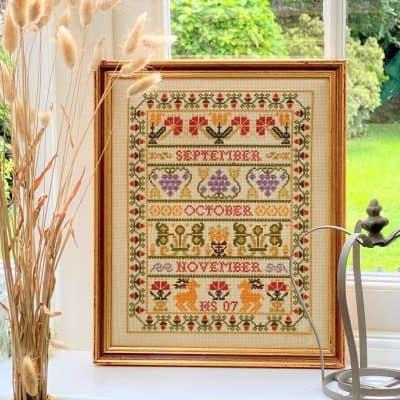 seasonal counted cross stitch kit
