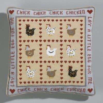 Chicken tapestry kit