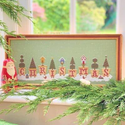christmas counted cross stitch kit