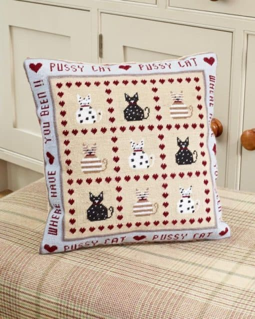 Cat tapestry kit