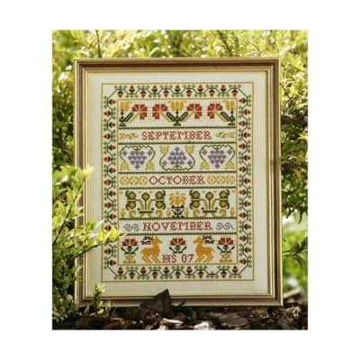 Autumn Band cross stitch kit