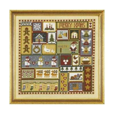Christmas cross stitch kit