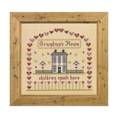 Grandmas House cross stitch