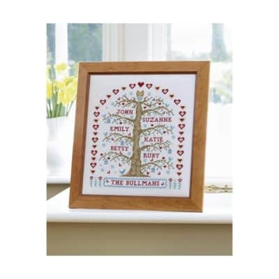 Family Tree cross stitch