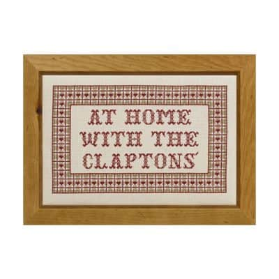 Home cross stitch