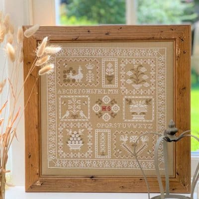 traditional counted cross stitch kit
