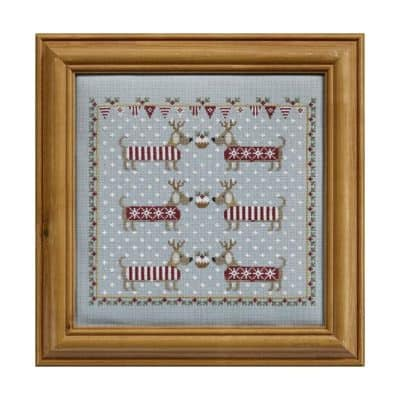 Dog cross stitch kit