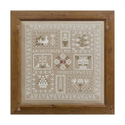 Traditional cross stitch kit