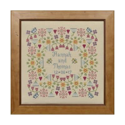 Wedding cross stitch kit