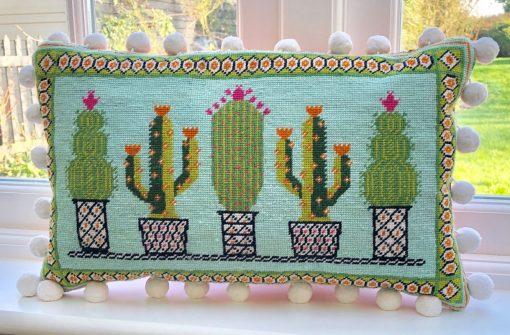 Cactus tapestry kit