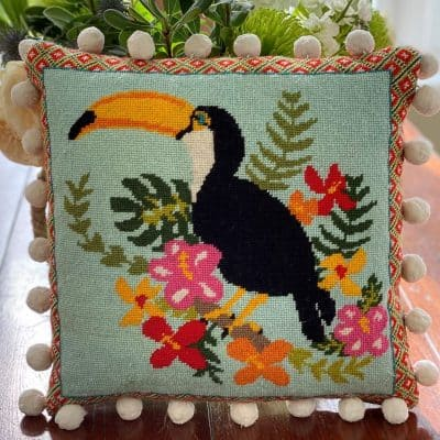 Toucan tapestry kit
