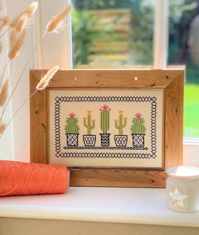 Cactus Cross Stitch