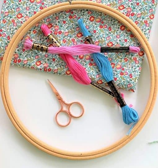 Hemline Rose Gold Scissors